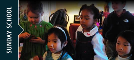 Sunday school scenes